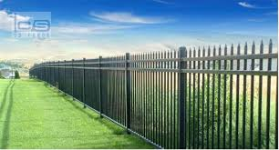 China Factory Direct Sales Wholesale Hot Sale Security Galvanized Steel Fencing China Fence And Fencing Price