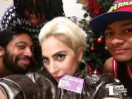 Lady Gaga visits young homeless LGBT people at the Albert Kennedy Trust -  Fyne Times