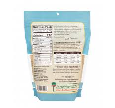 steel cut oats nutrition facts uncooked