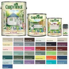 Garden Shed Paint For Sale Ebay
