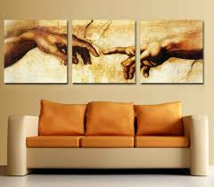 3 لوحات الحديثة المنزل Decotation ل عقد يدك الحلو الحب جدار الصور