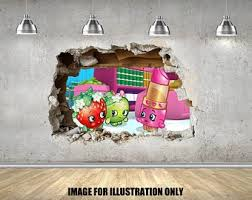 Shopkins Wall Decal Etsy