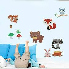 Tribal Fox Wall Sticker Nursery Kids Room Wall Mural Decor Animal Wall Art Decal For Sale Online Ebay