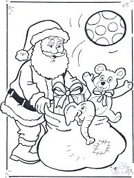 Kleurplaten Kerstman Kleurplaten Kerst