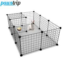 Pawstrip Diy Pet Fence 35 35cm Iron Net Dog Cage Kennel Free Combination Dog Fence Puppy House Pet Small Animal Rabbit Cage Houses Kennels Pens Aliexpress