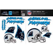 Skinit Carolina Panthers Car Decal Kit Walmart Com Walmart Com