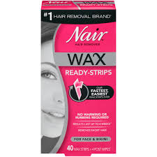 nair hair remover wax ready strips for