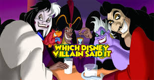 who said it disney villain edition thequiz