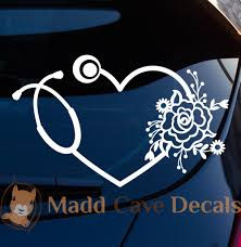 Nurse Car Decal Nurse Sticker Nurse Decal For Car