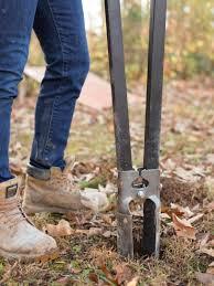 How Deep Should I Dig Fence Posts Hgtv
