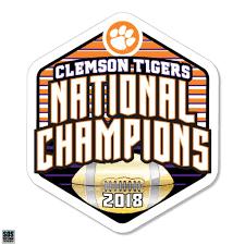 Sds Design Clemson Tigers 2018 National Football Champions Polygon Dec Mr Knickerbocker