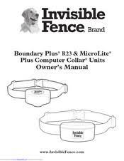 Invisible Fence Microlite Plus Computer Collar Manuals Manualslib