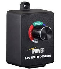 exhaust fan motor sd controller