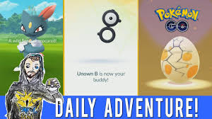 UNOWN IS MY BUDDY! Pokemon GO Daily Adventure! Wild Sneasel! 2km ...