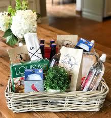 housewarming gift basket idea easy