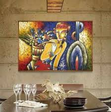 Wholesale Famous Paintings Picasso Abstract Oil Painting The Flower Girl Wall Art Decoration Picture Hand Painted On Canvas Famous Paintings Picasso Decorative Picturespaintings Picasso Aliexpress