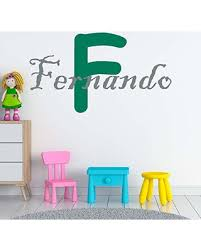 Amazing Sales Personalized Boy S Name And Initial Wall Decal Choose Your Own Name Initial And Letter Styles Multiple Sizes Nursery Custom Name And Initial Wall Decal Sticker Wall Sticker Decor Boy S Name