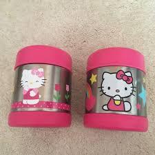 Hello Kitty Kitchen Hello Kitty Pink Thermos Cups Poshmark