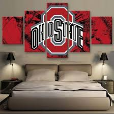 2020 Block Ohio State Football Sport Poster Canvas Painting Pictures Living Room Pictures Wall Art Cuadros Decorative From Onlybrand 8 05 Dhgate Com