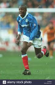 PAUL HALL PORTSMOUTH FC 08 March 1995 Stock Photo - Alamy
