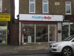 five star nails similar nearby
