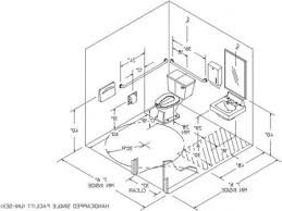 ada bathroom with special