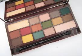 makeup i heart mint chocolate palette