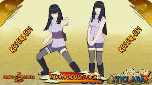 Naruto - Hinata Hyuuga (Adult) PACK 1 FOR XPS by ASideOfChidori on ...