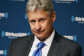 Right on Schedule, Gary Johnson's Poll Numbers Are Crashing