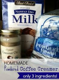 homemade powdered coffee creamer save