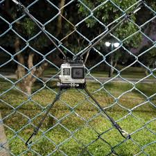 Action Camera Chain Link Fence Mount For Gopro Action Cameras Ideal Backstop Camera Mount For Recording Baseball Softball And Tennis Games Amazon Sg Electronics
