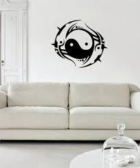 Yin Yang Tribal Design Decal Sticker Wall Vinyl Decor Art Boop Decals
