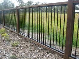 Steel Railing Back Fence Aluminum Pool Fence Pool Fence Aluminum Fence