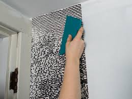 how to install wallpaper in a bathroom