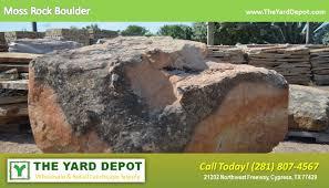 landscape rock the yard depot in