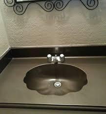 painting bathroom sinks
