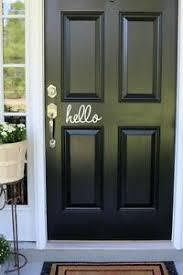 Hello Door Sticker Image Is Loading Hello Front Door Vinyl Decal Sticker