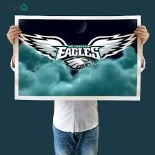 philadelphia eagles painting at