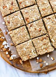 almond coconut granola bars cookie