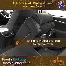 rear seat covers zippered armrest