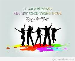 funny happy new year messages sayings cartoons