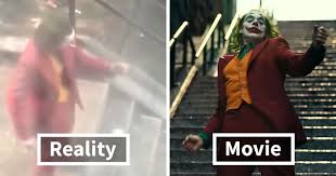 someone posted joaquin phoenix s iconic joker dance from a