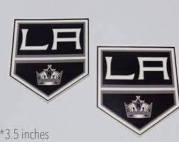 La Kings Decal Etsy