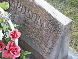 Iva Abe Eskridge Richardson (1880-1938) - Find A Grave Memorial