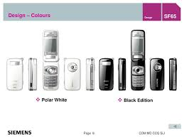Siemens Mobile Phones SF65 Presentation ...