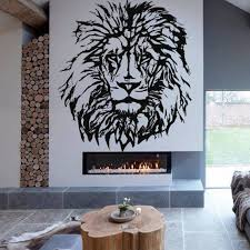 Lion Wall Decal African Wild Lion Pride Animals Home Interior Etsy