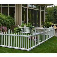 Zippity Outdoor Products 2 5 Ft H X 4 7 Ft W Madison No Dig Garden Fence Panel Reviews Wayfair
