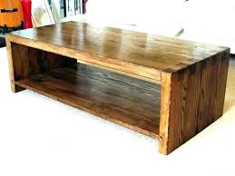 round oak coffee table hairpin legs