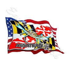 Car Window Vinyl Die Cut Decal Sticker 07001 Usa America Maryland State Home