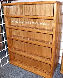shot glass display cases free